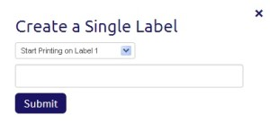 [image] create single label